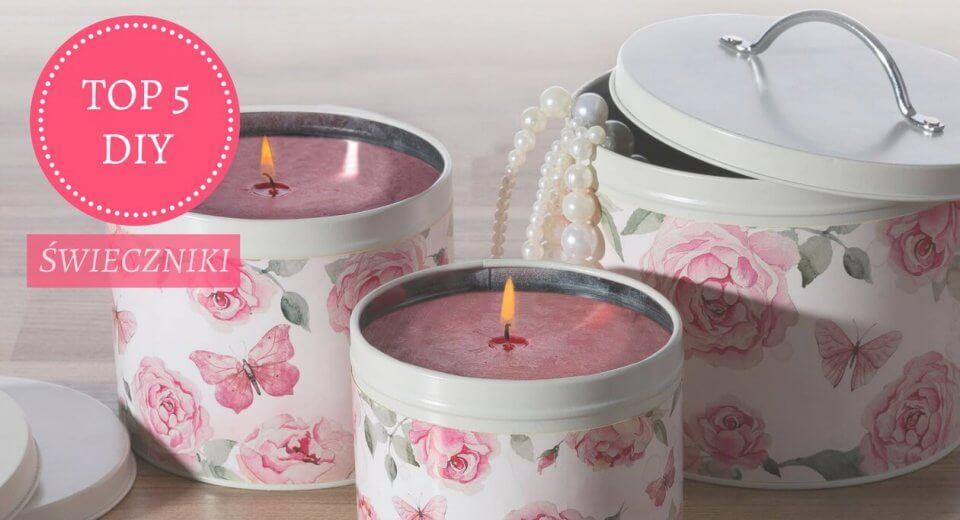 Top 5 DIY: jak zrobić świecznik?