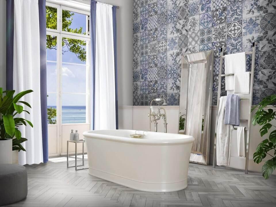Blask południowego słońca, czyli łazienka w stylu śródziemnomorskim