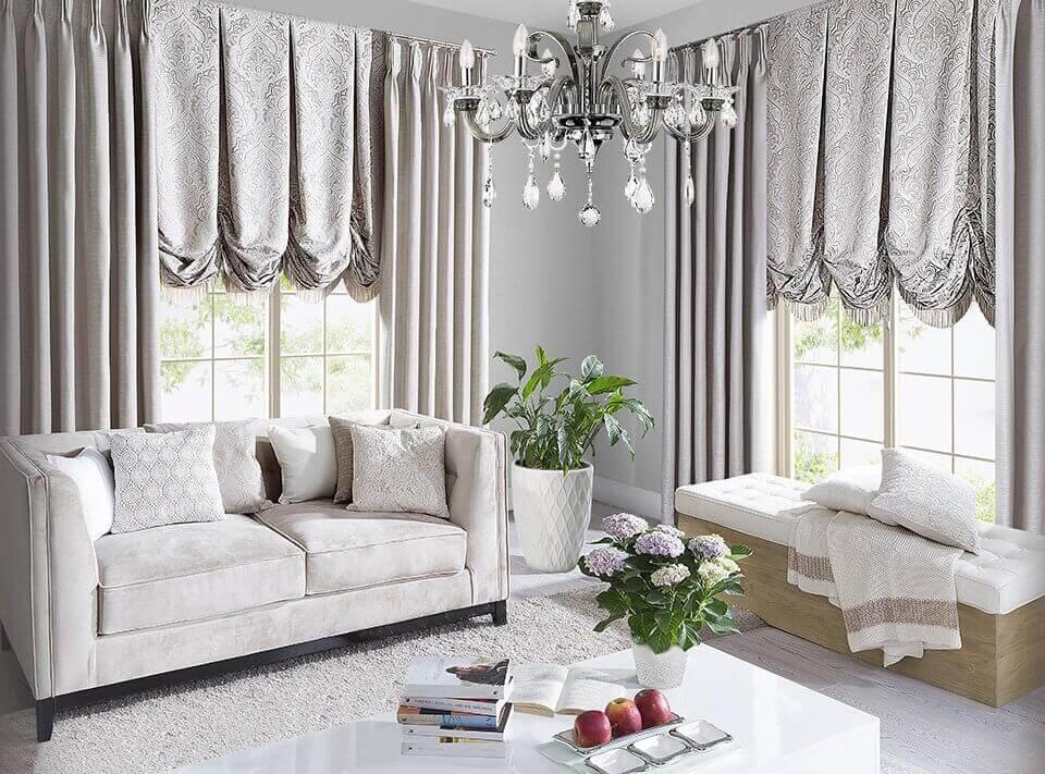 Oświetlenie w salonie – dodaj wnętrzu trochę ciepła
