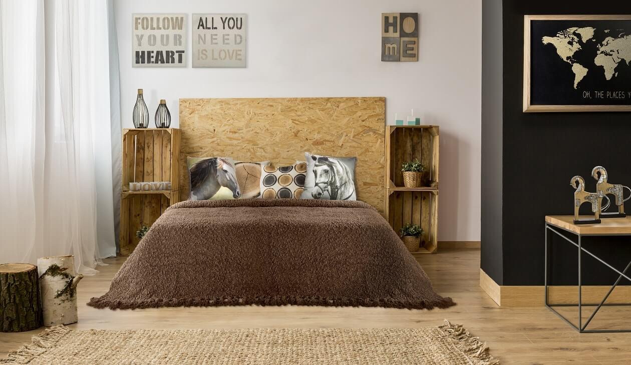 Styl ekologiczny – zaproś naturę do swojej sypialni!