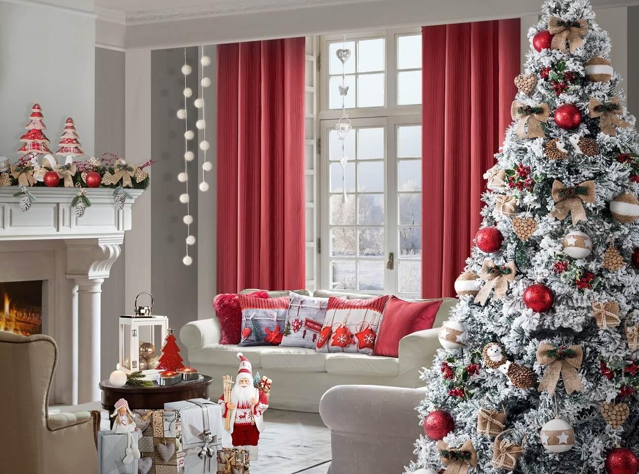 Poczuj magię świąt w swoim domu. Metamorfoza salonu!