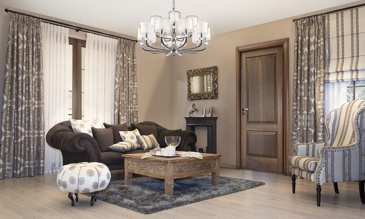 Styl chippendale w salonie – eklektyczna elegancja