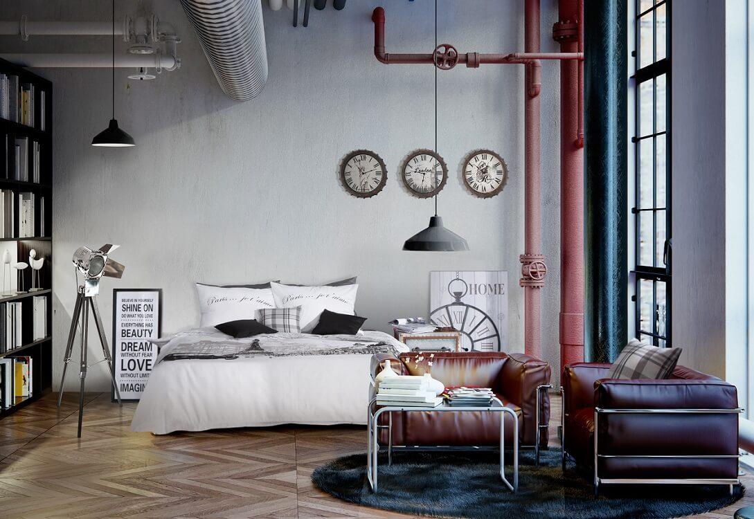 Zmiany w sypialni – zamień styl industrialny w styl organiczny (2)-min