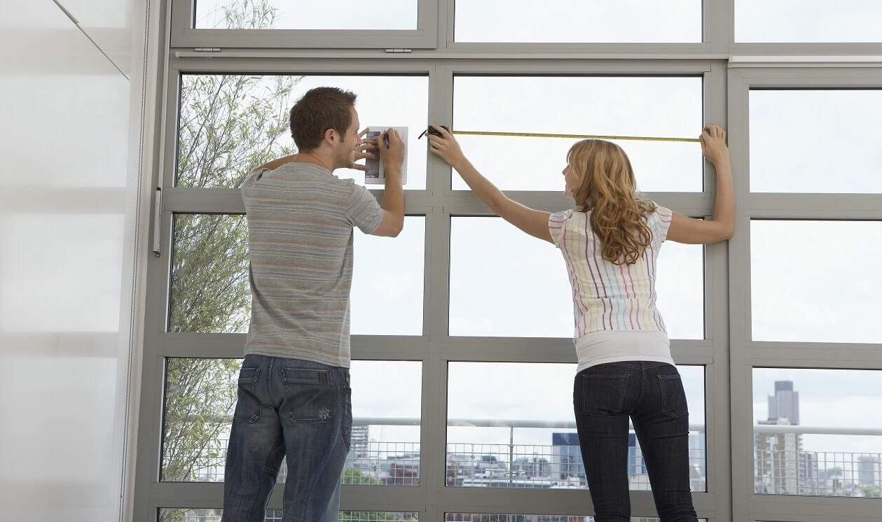 Jak zmierzyć okno, by firany szyte na miarę pasowały idealnie?