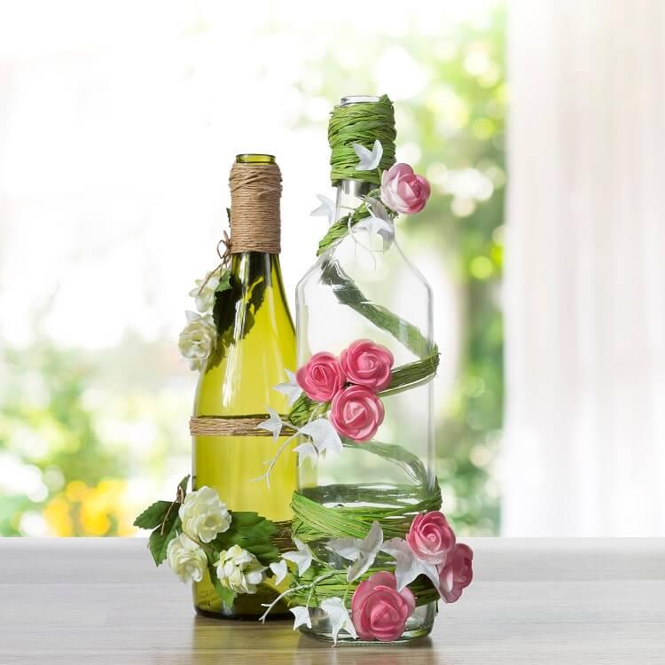 Wazon z butelki DIY