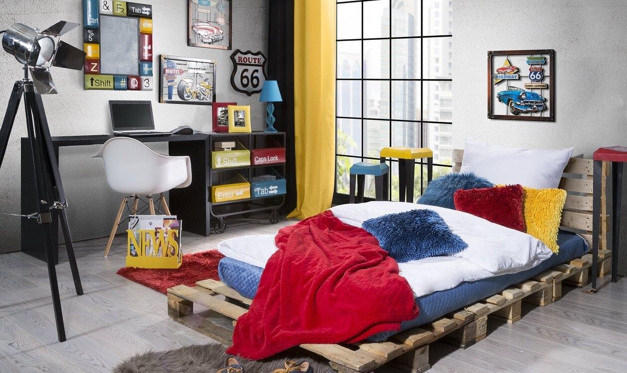 Pokój młodzieżowy w stylu hi-tech – nowocześnie i funkcjonalnie