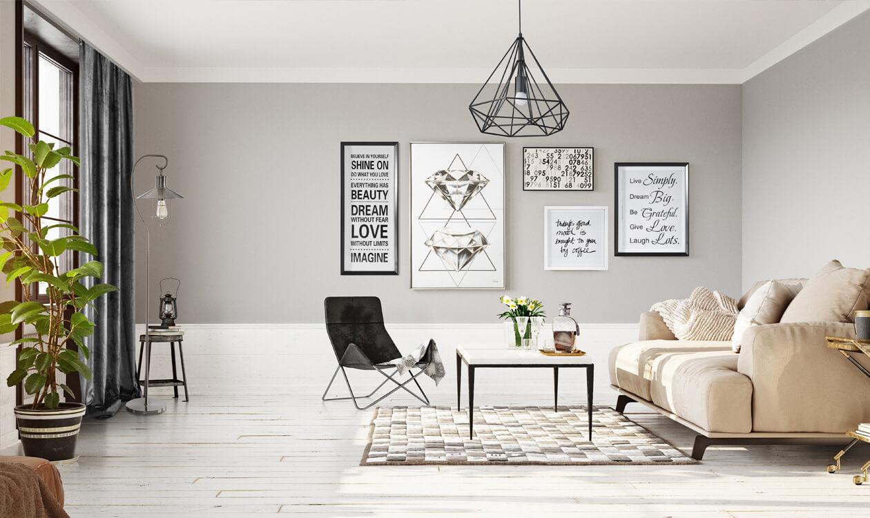 Lampa wisząca nad stół do salonu – pomysły i inspiracje