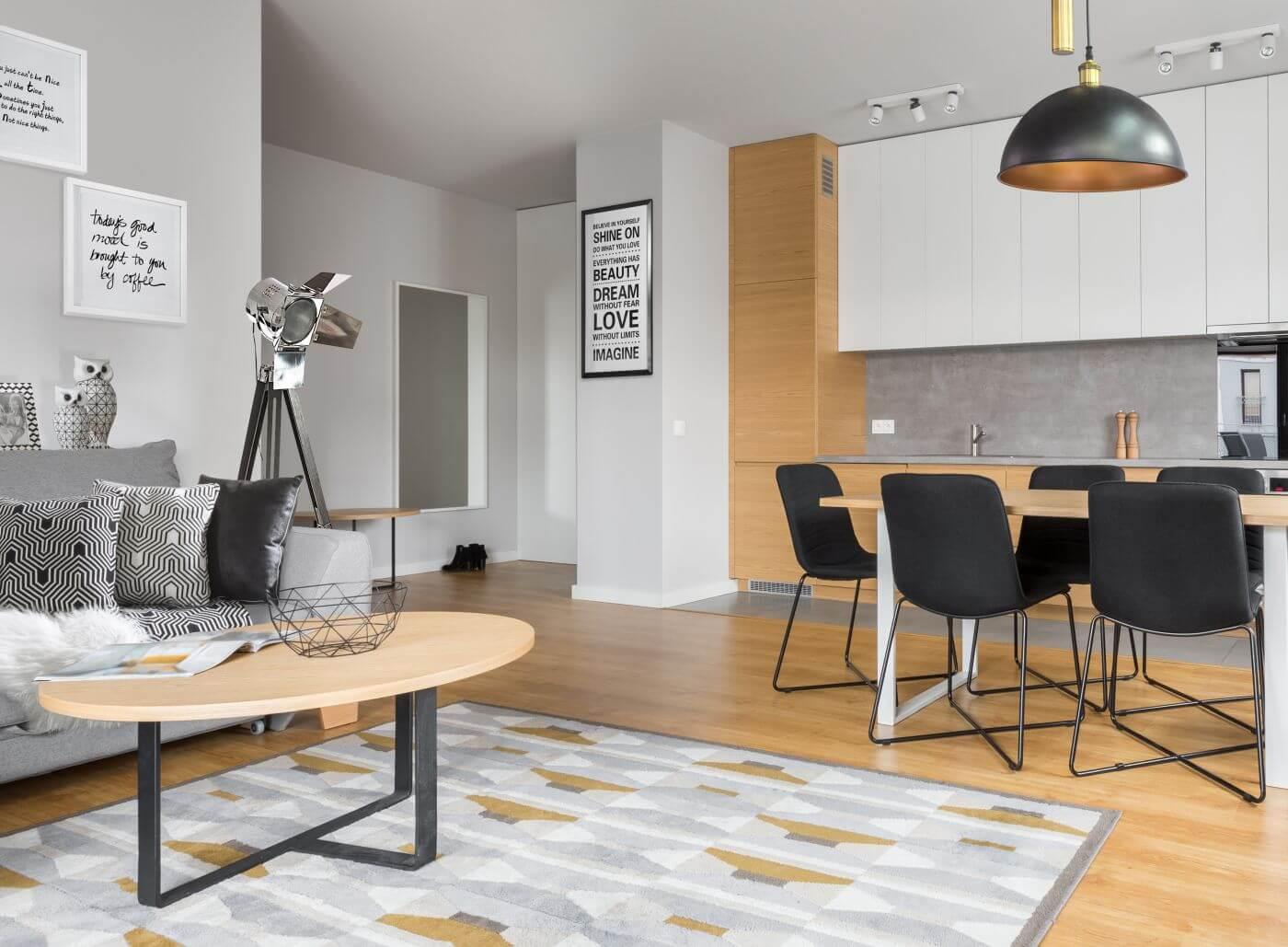 aranżacja mieszkania na wynajem eurofirany