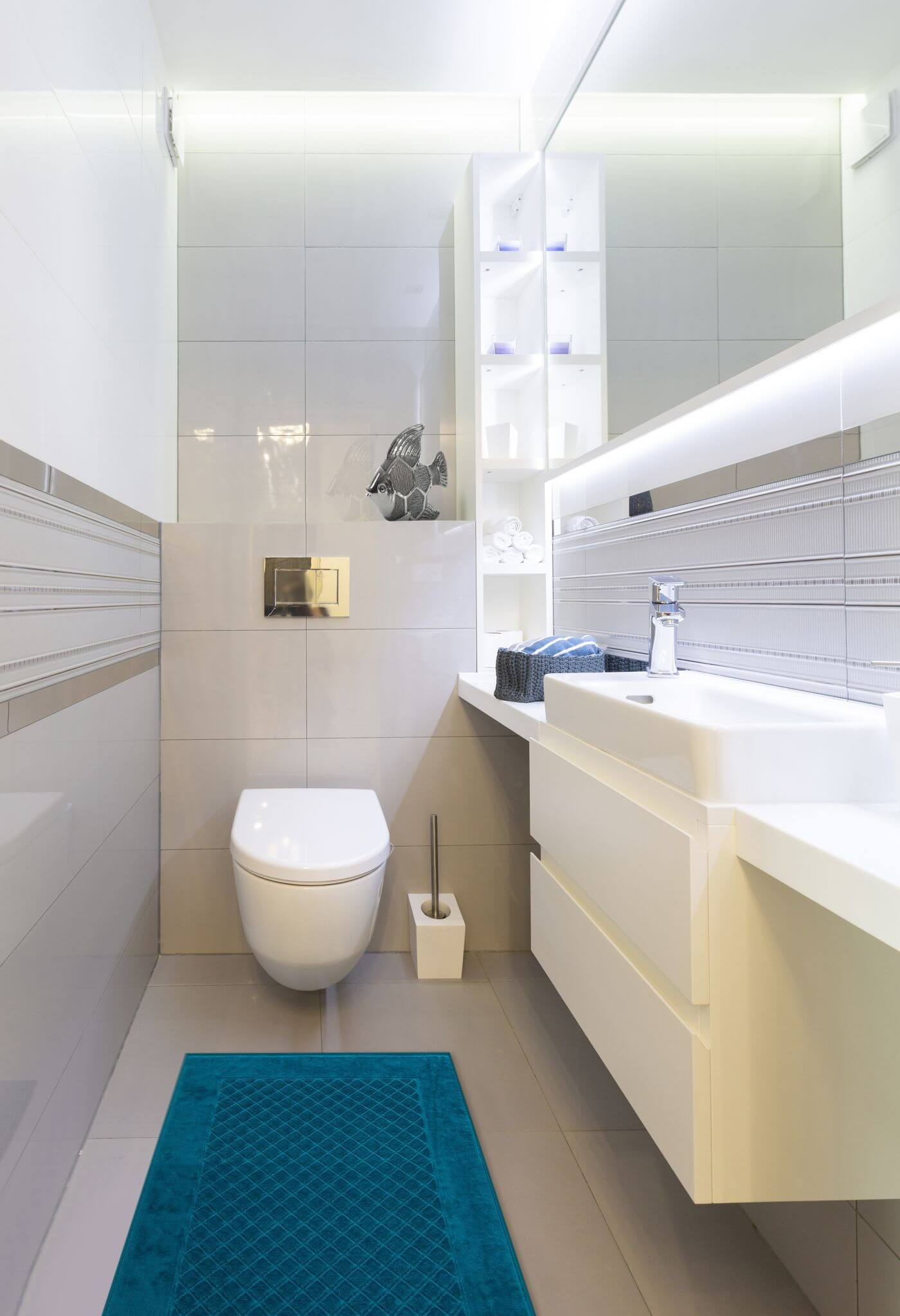 Urządzanie małej łazienki eurofirany