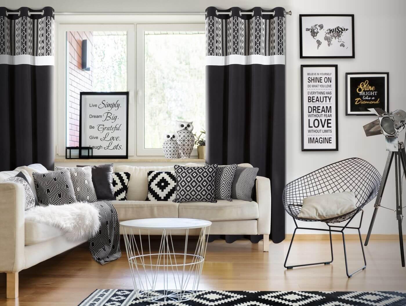 Tkaniny Dekoracyjne Na Zasłony Do Salonu Jak Wybrać
