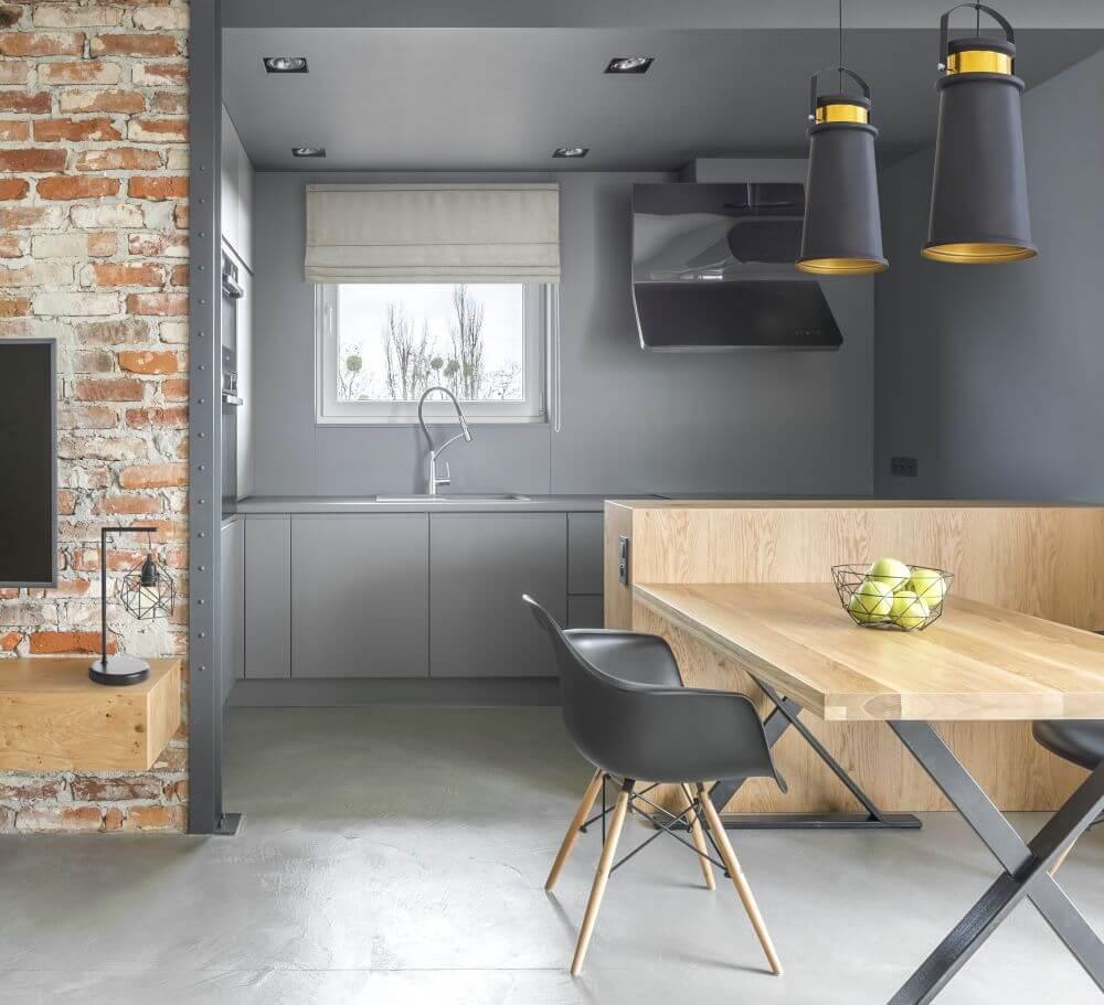 Salon z aneksem kuchennym 20m2 eurofirany