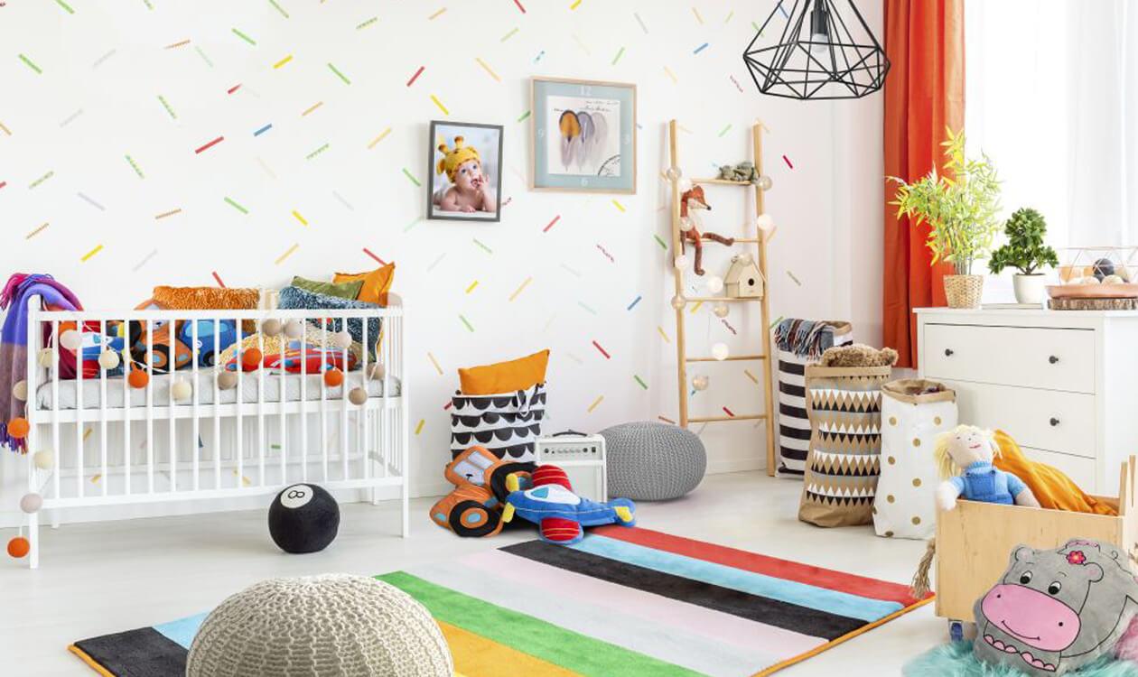 Pokój dla niemowlaka – pomysły na aranżacje