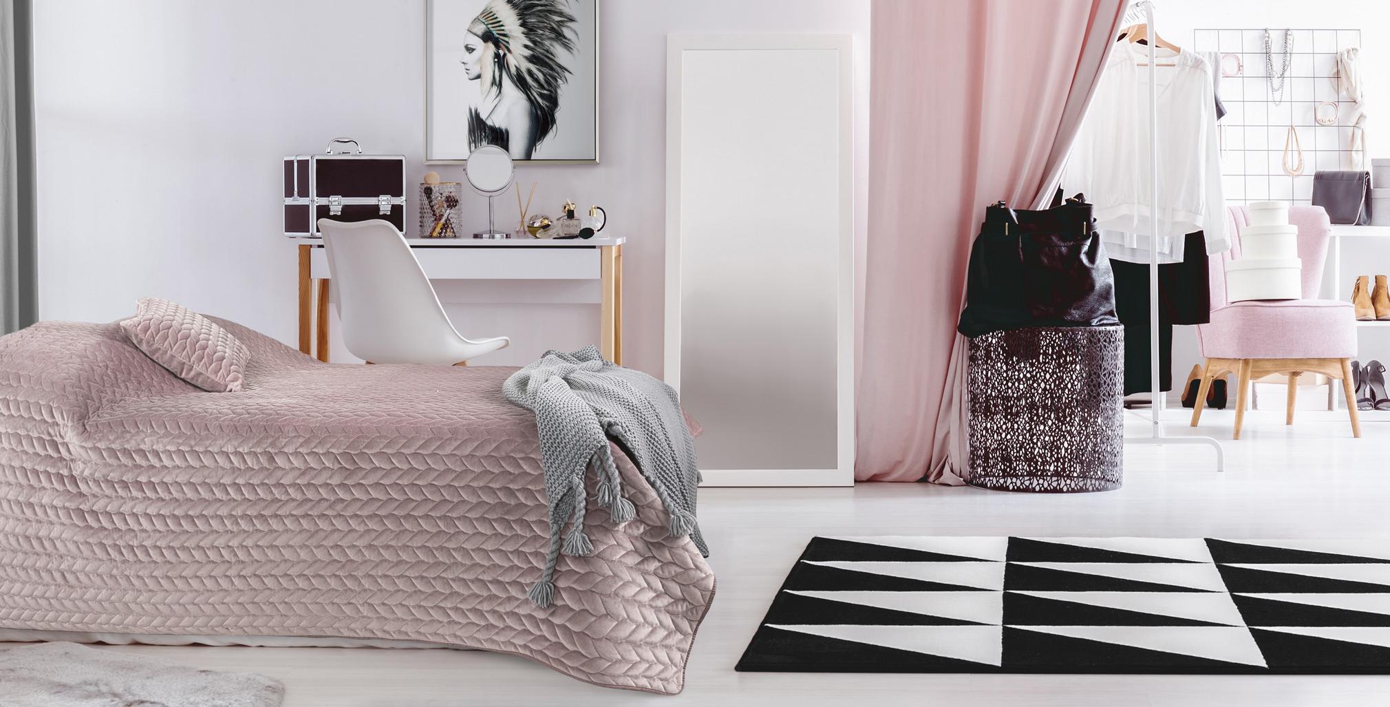 ścielenie łóżka eurofirany