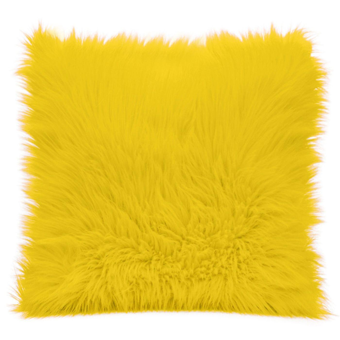żółte dodatki do salonu eurofirany