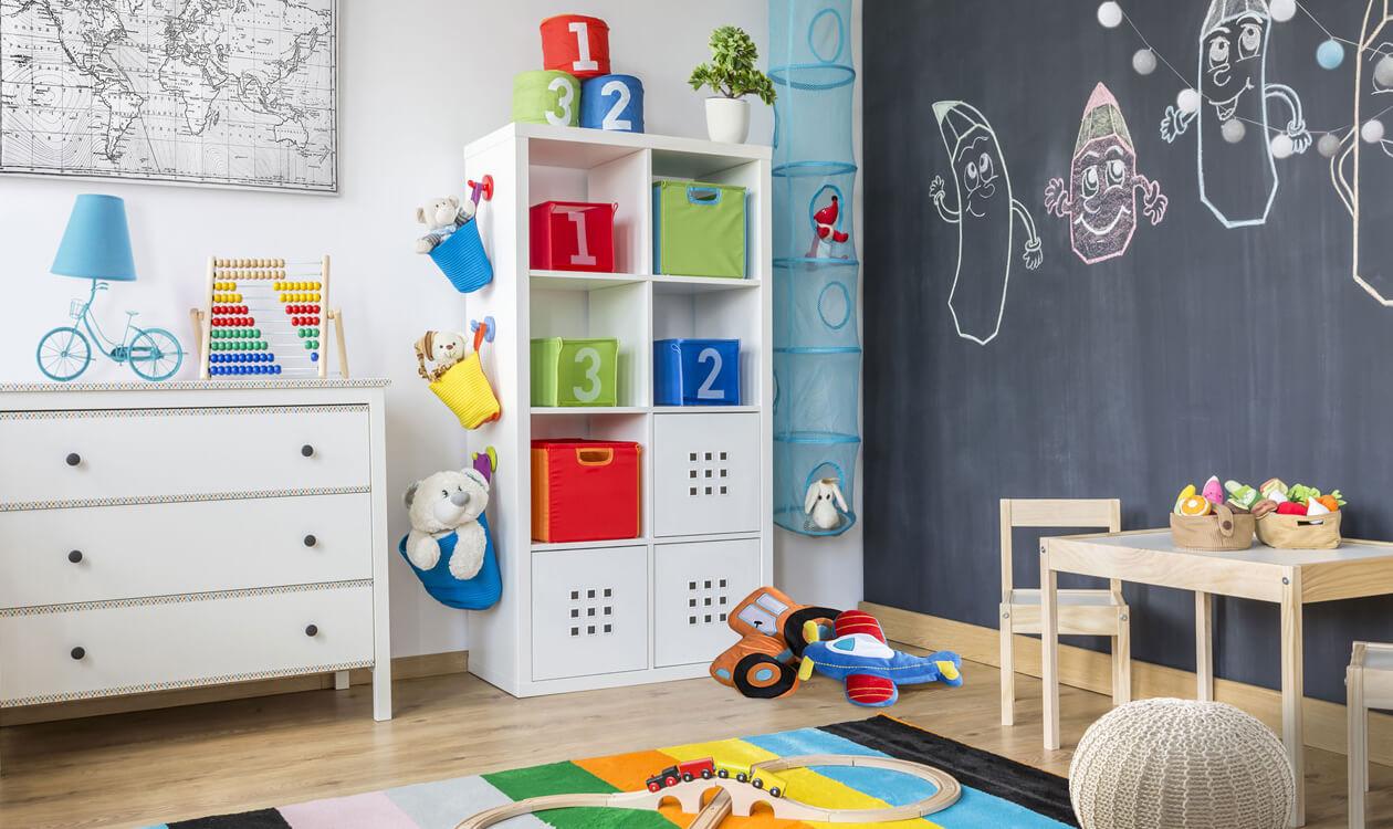Metoda Montessori – urządzamy pokój dla dziecka według tej metody