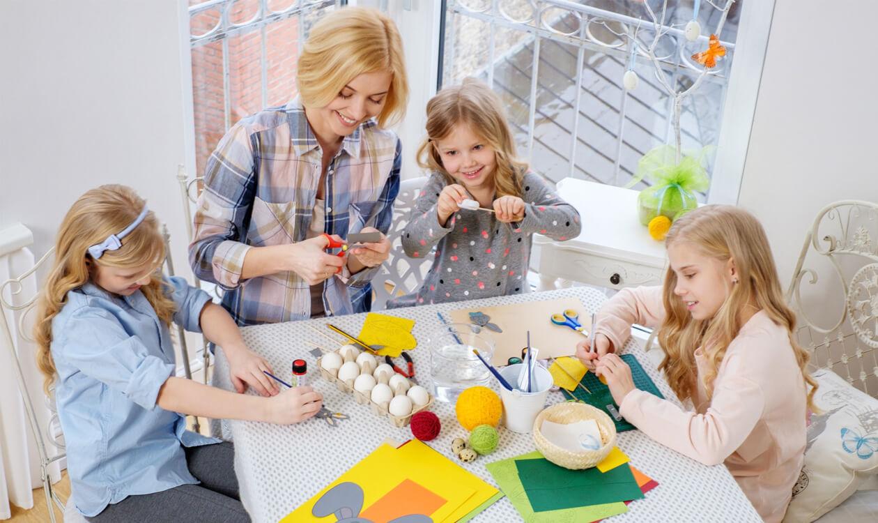 Jak zrobić ozdoby wielkanocne z papieru – DIY