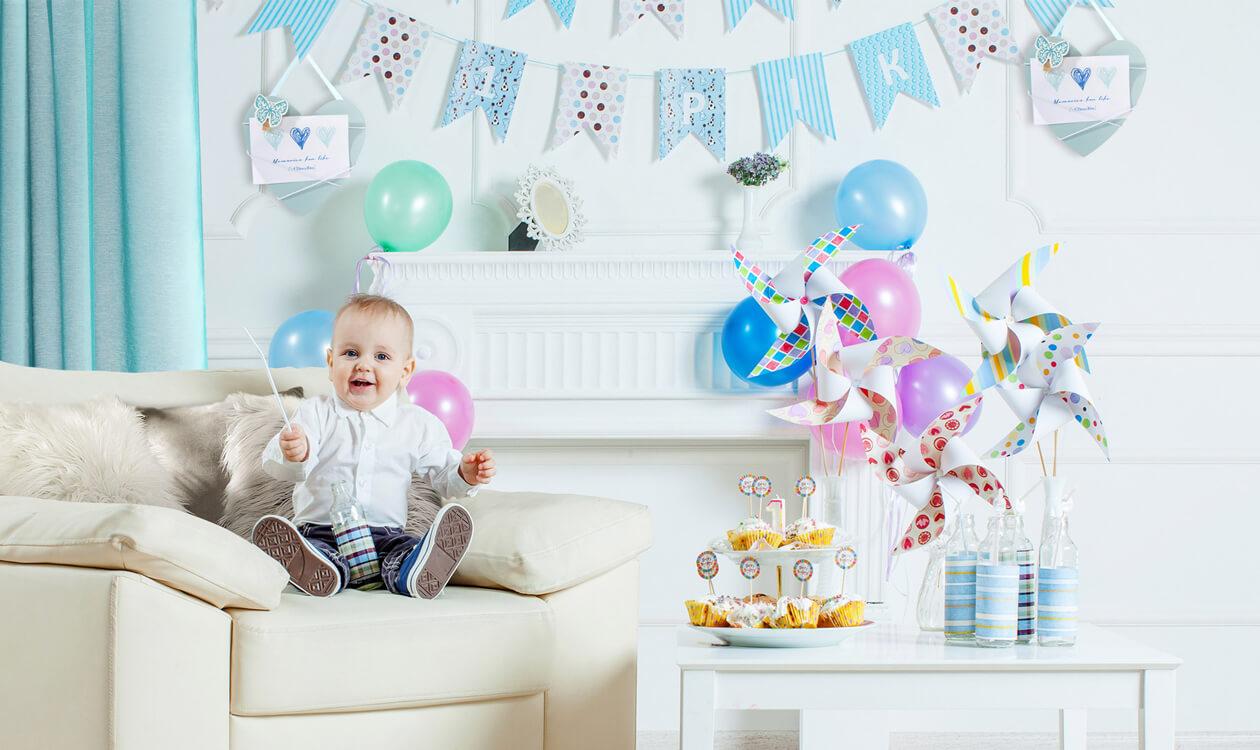 Dekoracje na roczek – pomysły na urodzinowe dekoracje