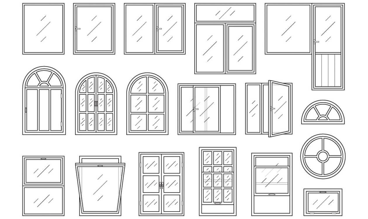 Standardowe wymiary okien typowych w domach i mieszkaniach