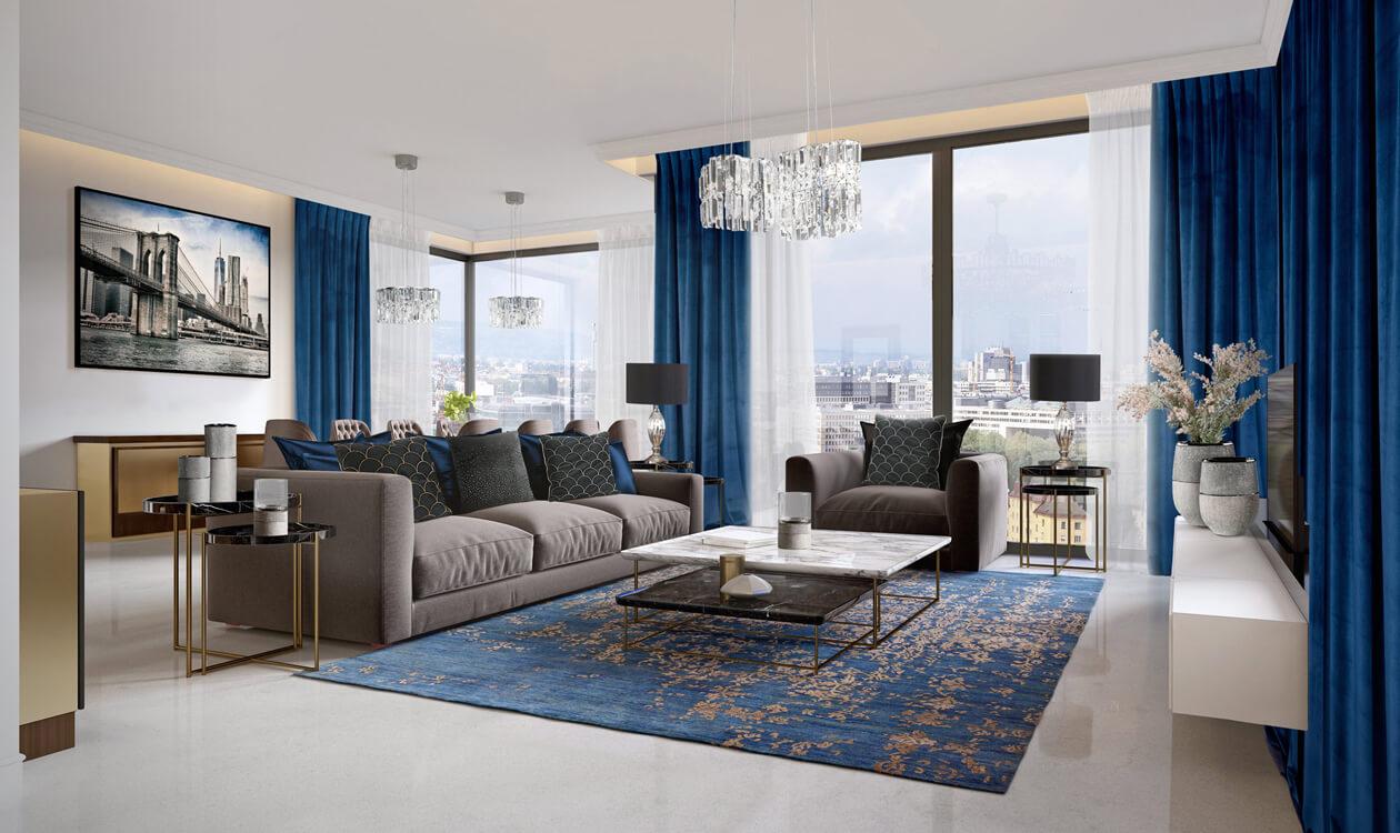 Urządzamy salon w stylu nowojorskim – Eurofirany podpowiadają