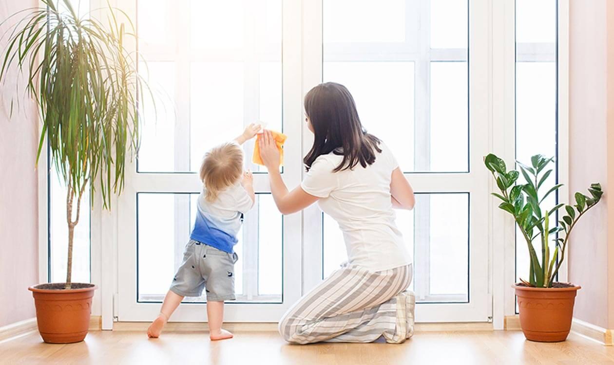 Jak domowym sposobem wyczyścić pożółkłe ramy okienne – DIY