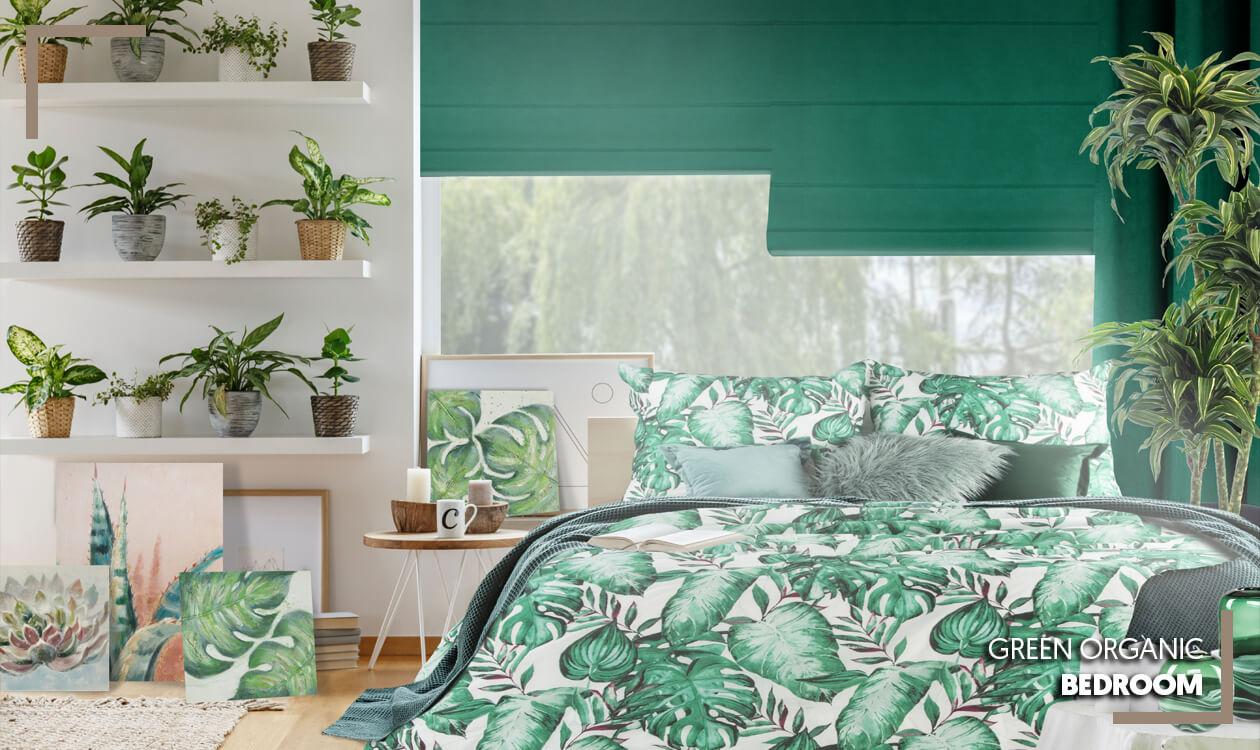Kup aranżację sypialni Green Organic Bedroom