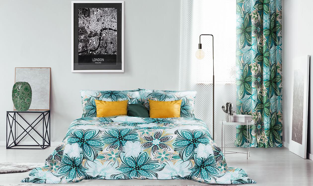 Roślinny motyw dekoracyjny we wnętrzach – dekorator Eurofirany radzi