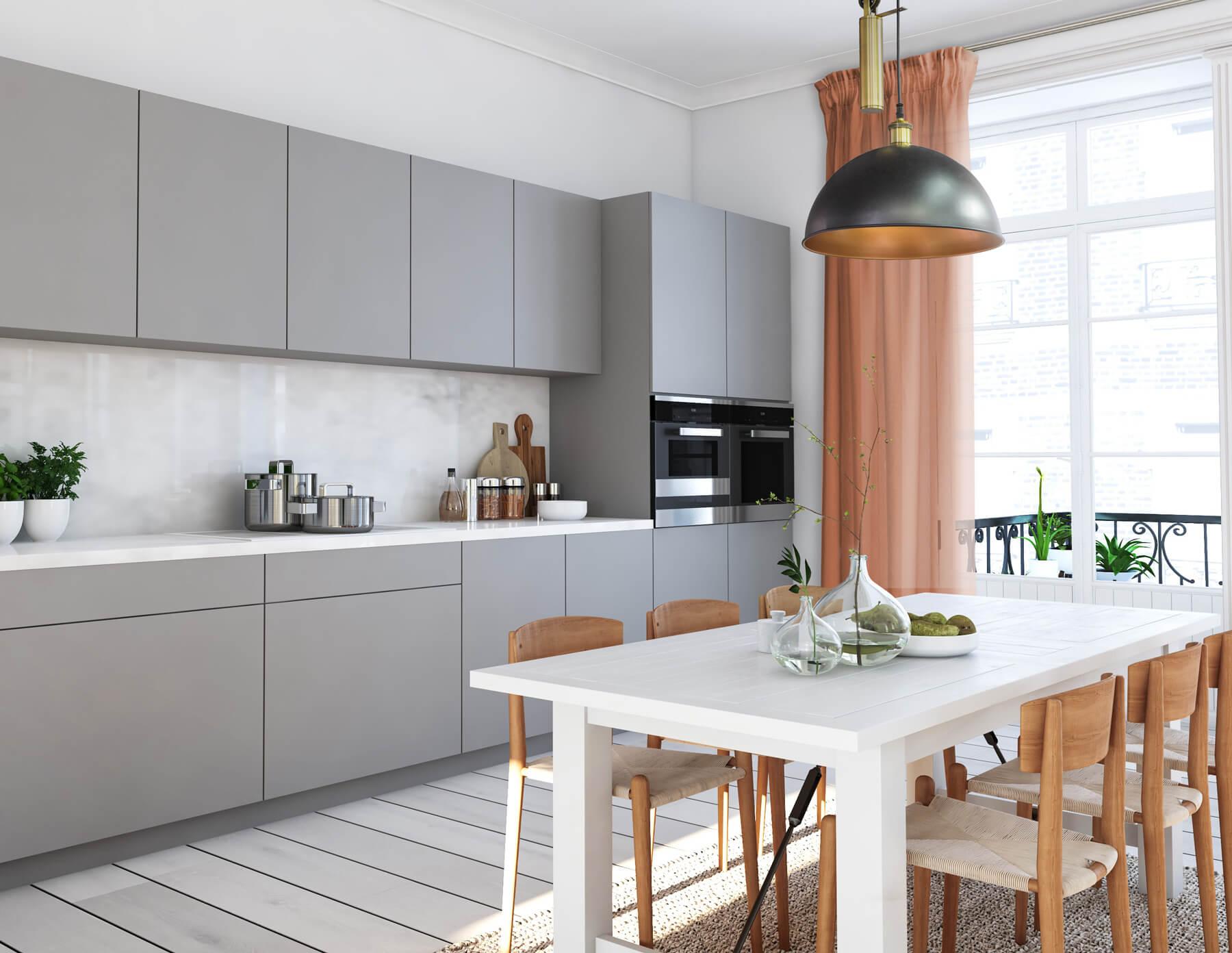 Bądź trendy! Modne dekoracje okienne do Twojej kuchni