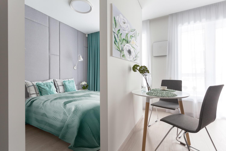Jak zaprojektować wąską sypialnię w bloku?