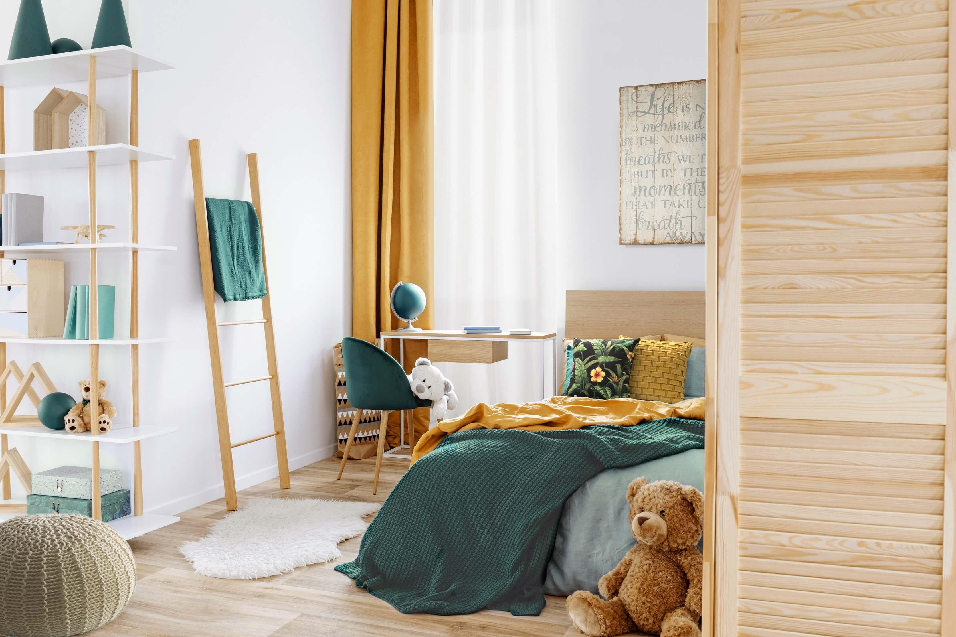 Jakie wybrać kolory do pokoju dziecka?