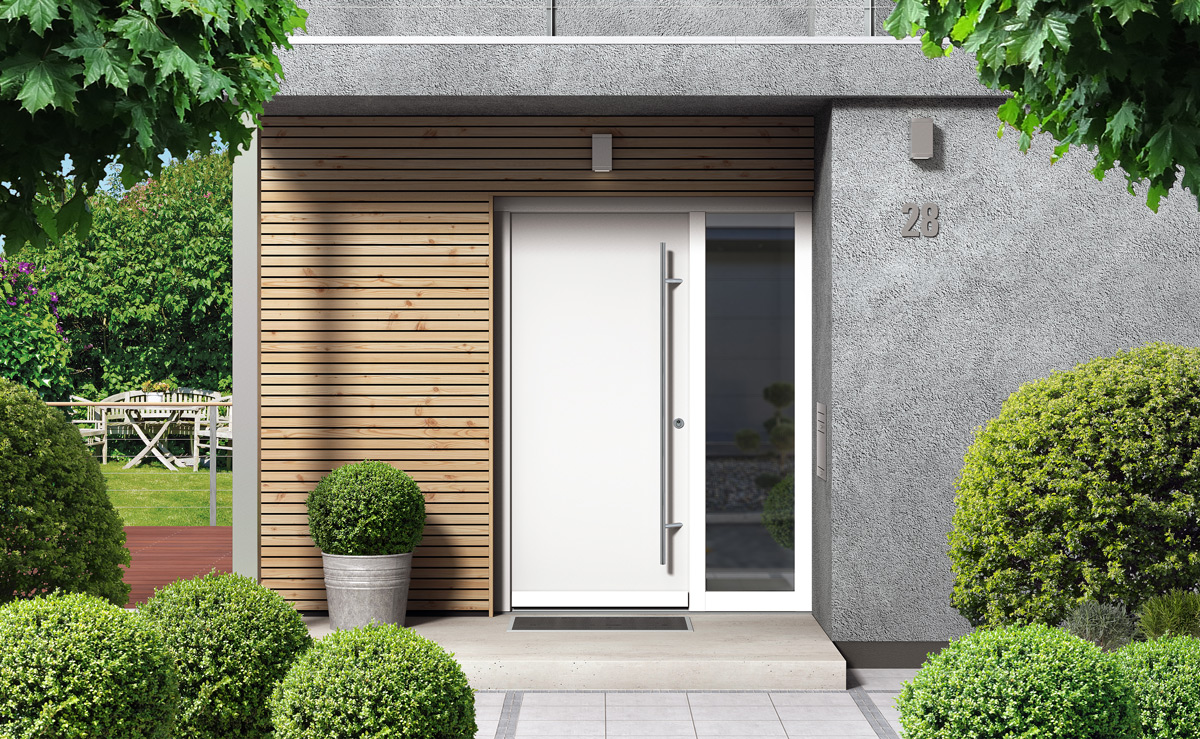 Jak urządzić ogród przed wejściem do domu? – aranżacje