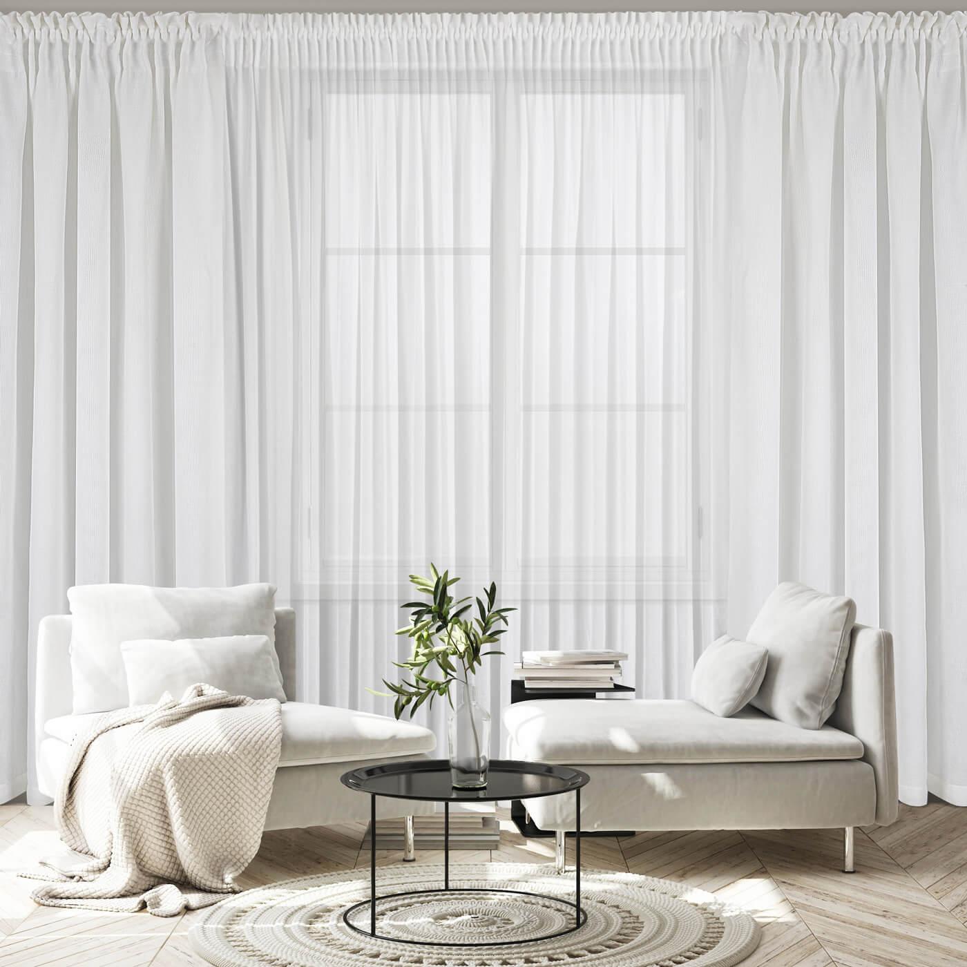 Jakie zasłony do salonu wybrać? Dobieramy zasłony do stylu wnętrza.