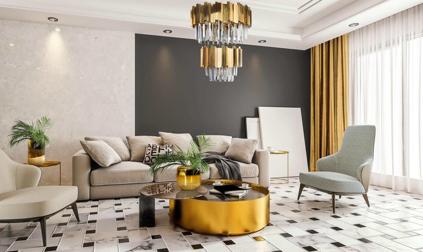 Jak dobrać kolor zasłon do salonu?