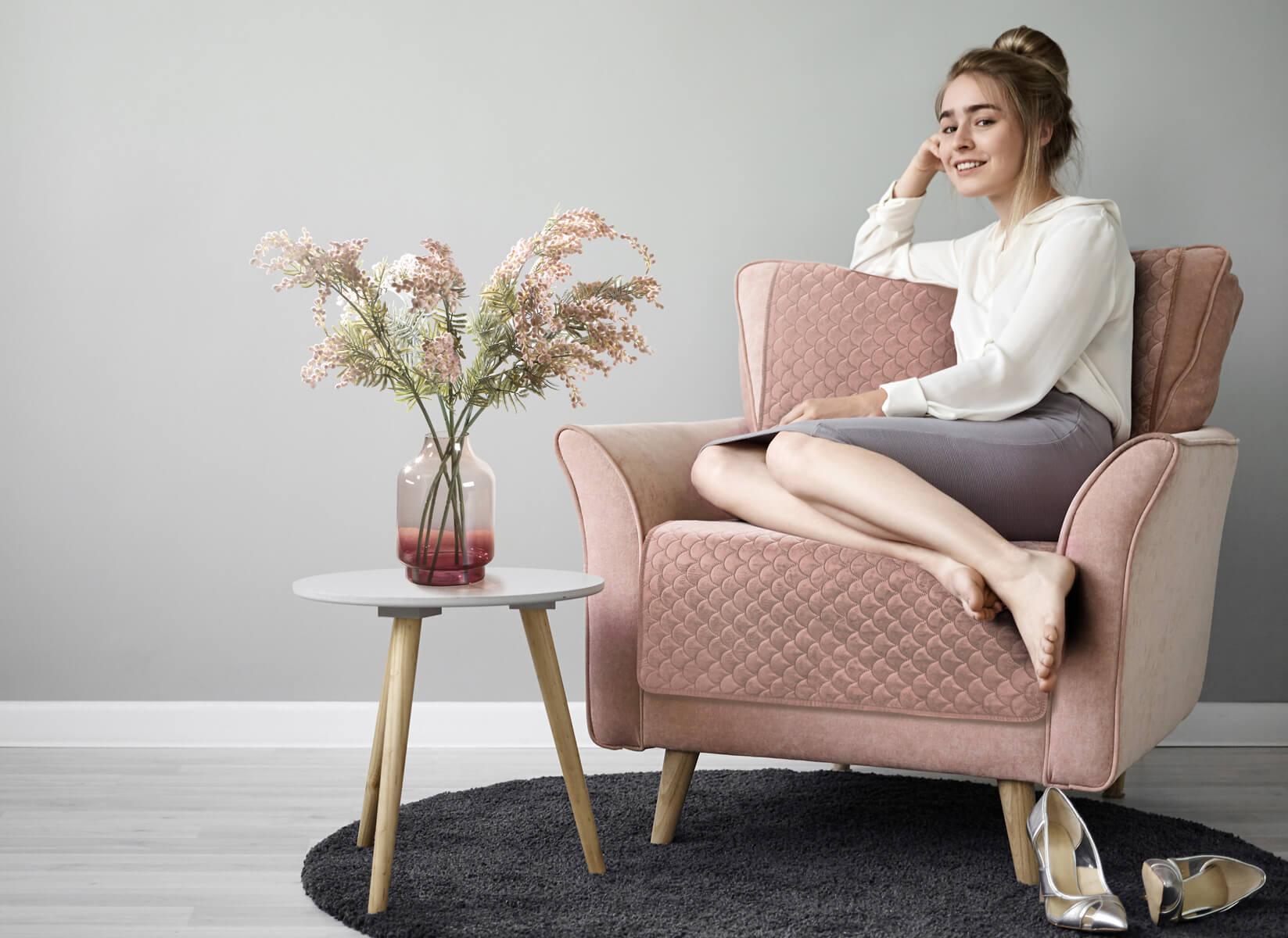 Jak uszyć pokrowiec na fotel? – DIY