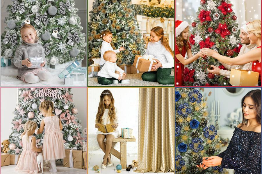 Kolory Bożego Narodzenia – wybierz dekoracje świąteczne w kolorach:złoty, srebrny, granatowy, czerwony, zielony