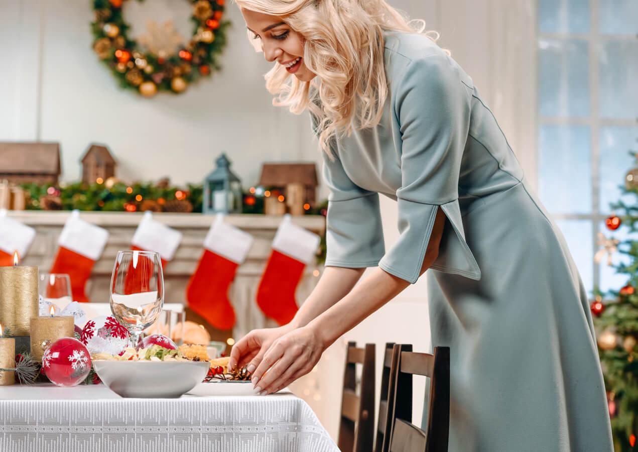 Jak modnie udekorować stół na wigilię?