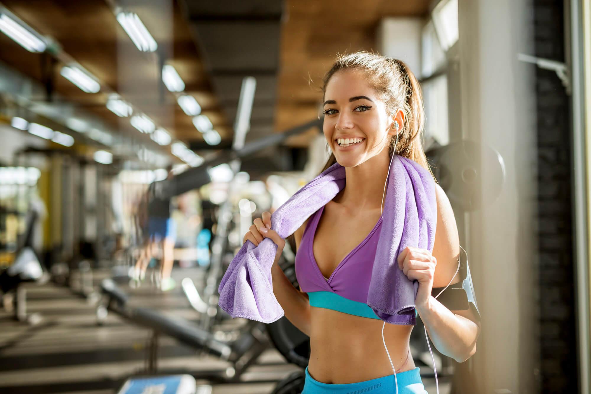 recznik na fitness