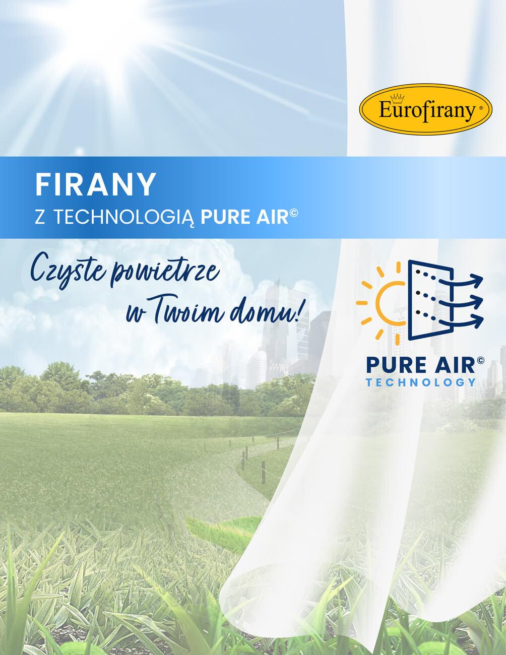 Fotokatalityczne tkaniny oczyszczające powietrze – Pure Air© – Nowość w ofercie firmy Eurofirany