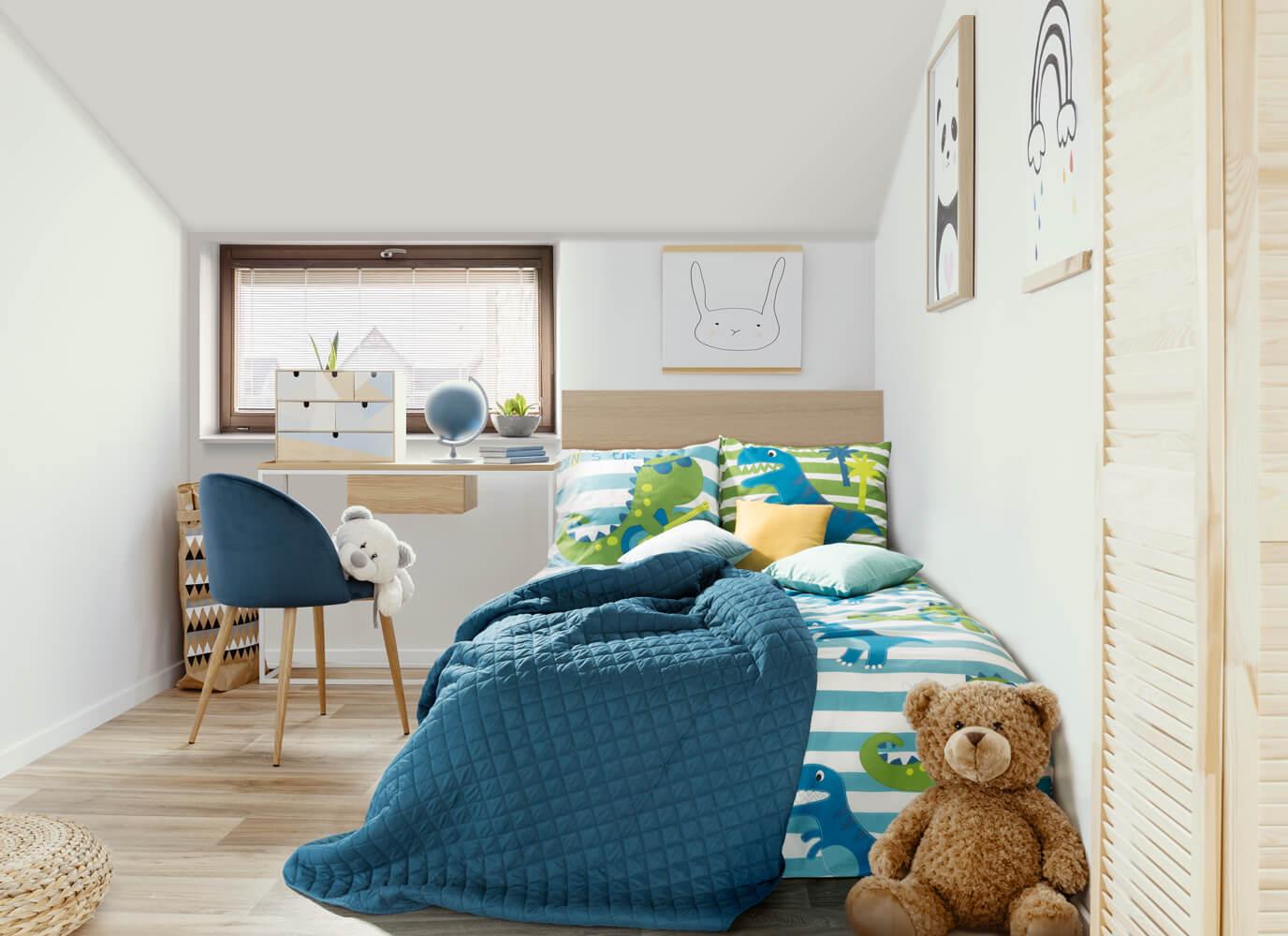 Jak urządzić pokój dla chłopca na poddaszu?