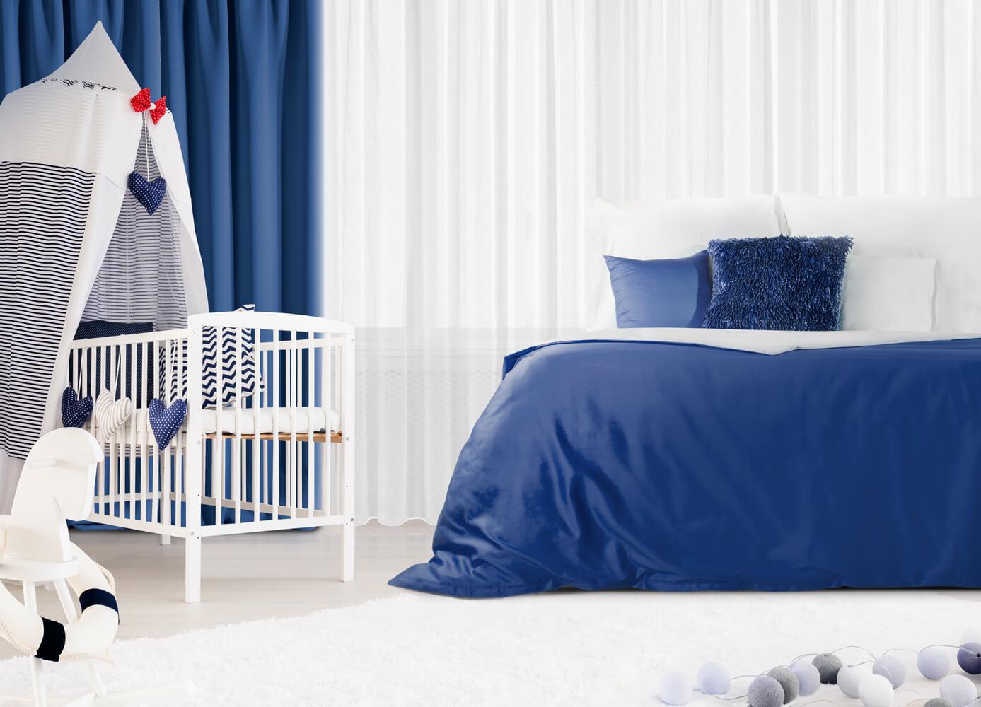 Jak urządzić sypialnię z łóżeczkiem dla dziecka?