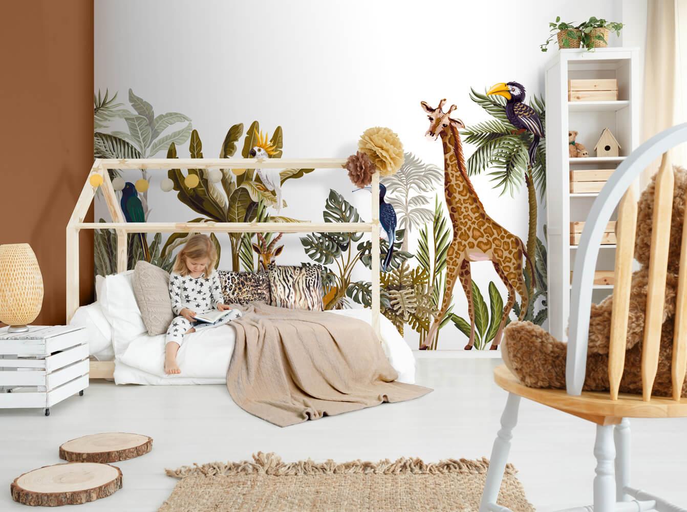 dzieci safari