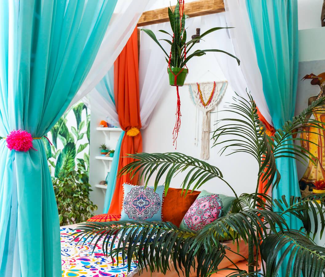 styl marokanski we wnetrzach