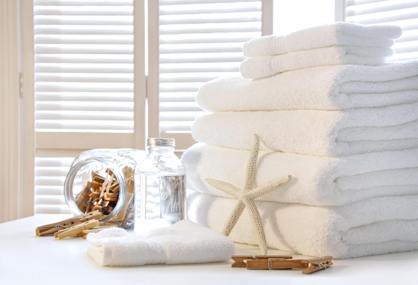 Jak wybielić ręczniki domowym sposobem?