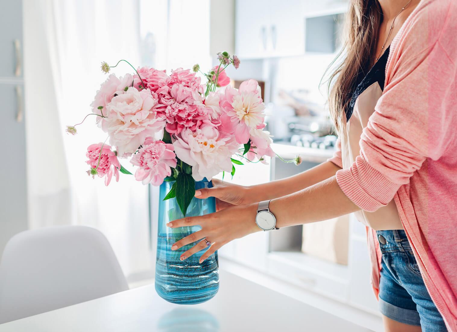 Co włożyć do wazonu?