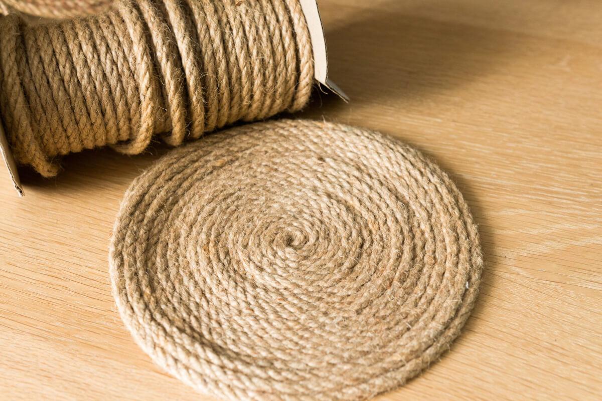 Jak zrobić podkładkę na stół ze sznurka