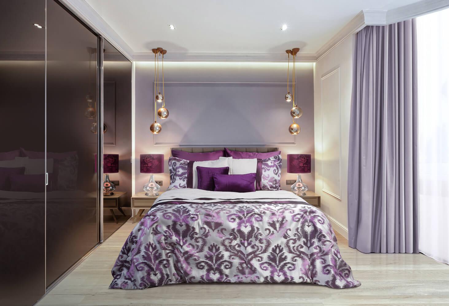 Jak urządzić fioletową sypialnię?